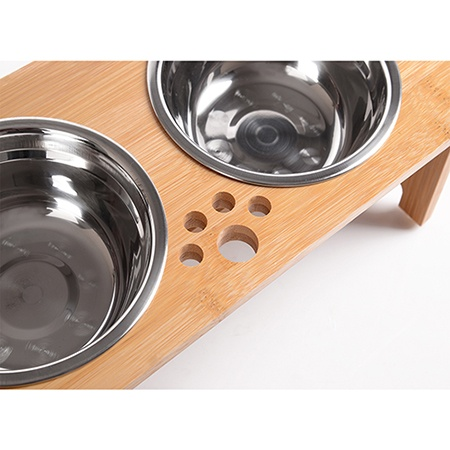 FOREYY Raised Pet bowls for Cats and Dogs
